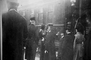 哈尔滨站站台上震惊世界的历史印记