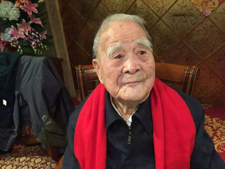 往事|百岁老人张健飞的抗战故事