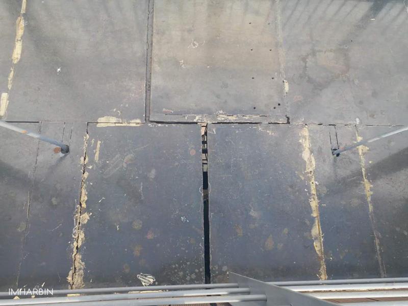 爆料:滨州铁路桥景观公园竣工不到一年出现大量破损